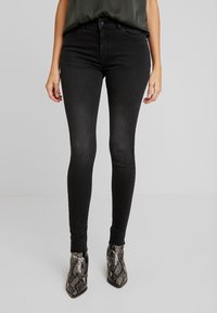 Moss Copenhagen - SIGGA - Jeans Skinny Fit - black washed - 0