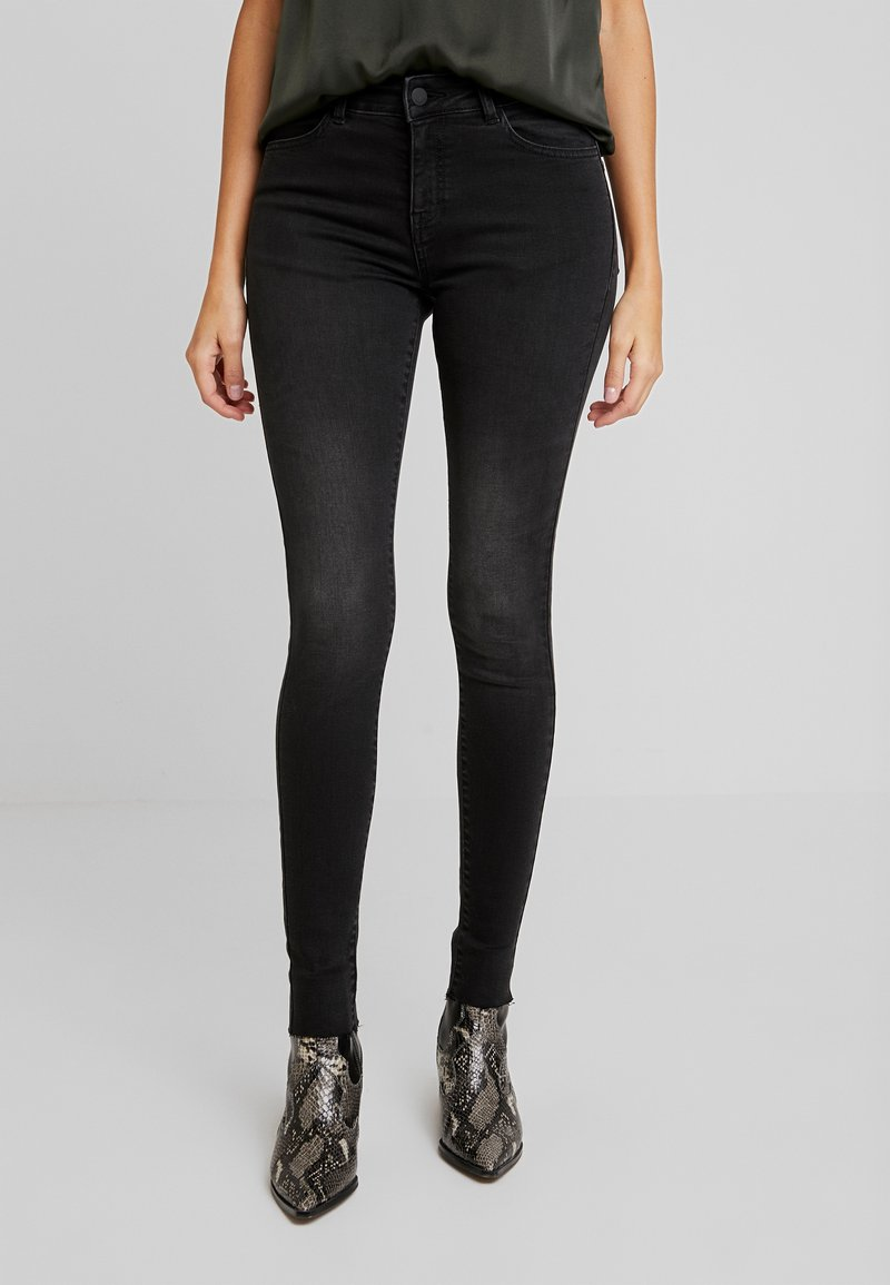 Moss Copenhagen - SIGGA - Jeans Skinny Fit - black washed