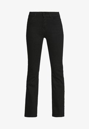 SIGGA FLARED - Jeans straight leg - black wash