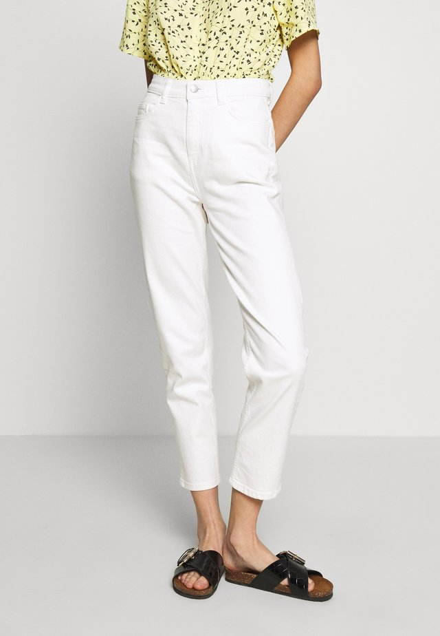 MELANIE CRYSTAL ANKLE - Jeans Relaxed Fit - egret