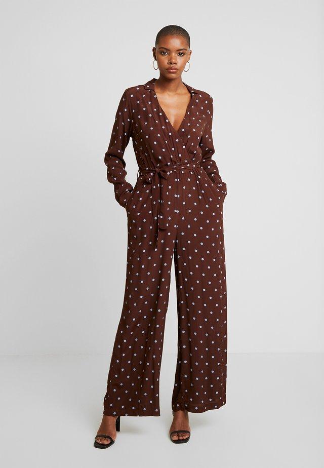 RYLIE MOROCCO - Jumpsuit - dark brown