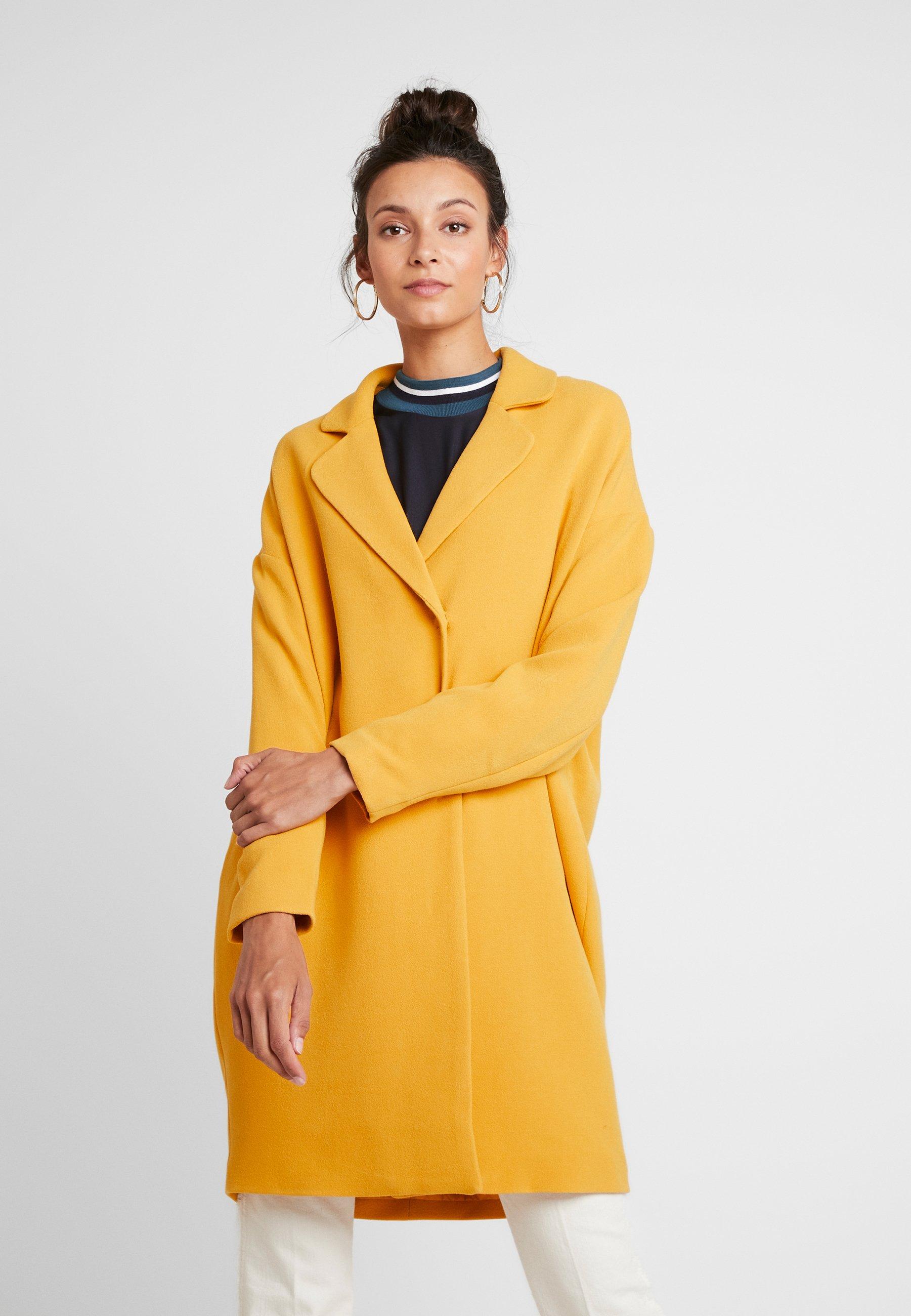 Moss Copenhagen Flake Jacket - Mantel Golden Yellow mCSVRkOM