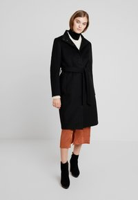 Moss Copenhagen - ISABELL JACKET - Classic coat - black - 0