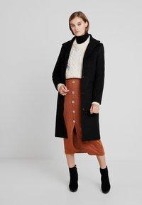 Moss Copenhagen - ISABELL JACKET - Classic coat - black - 1