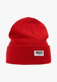 Moss Copenhagen - MOJO BEANIE - Bonnet - fiery red - 3