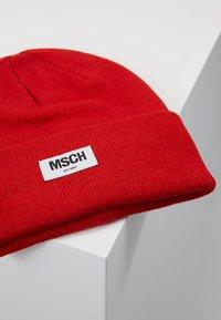Moss Copenhagen - MOJO BEANIE - Bonnet - fiery red - 4