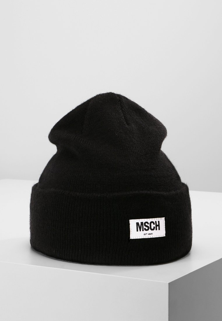 Moss Copenhagen - MOJO BEANIE - Huer - black