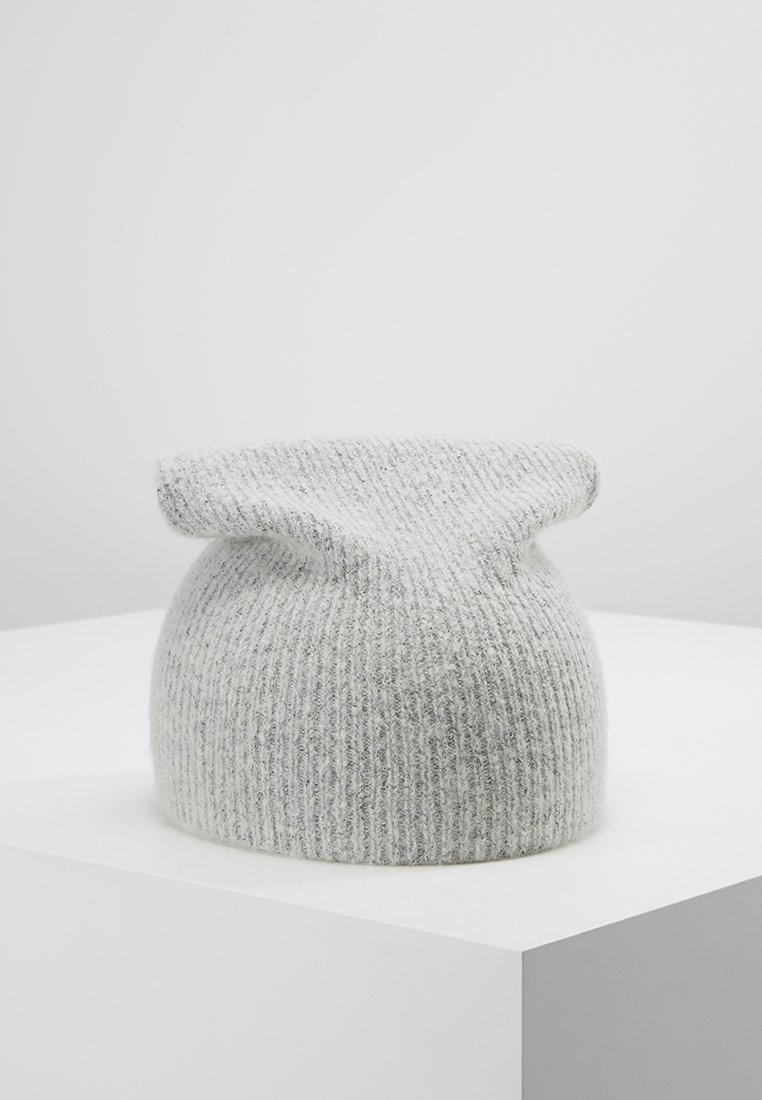 Moss Copenhagen - VILO BEANIE - Mütze - light grey