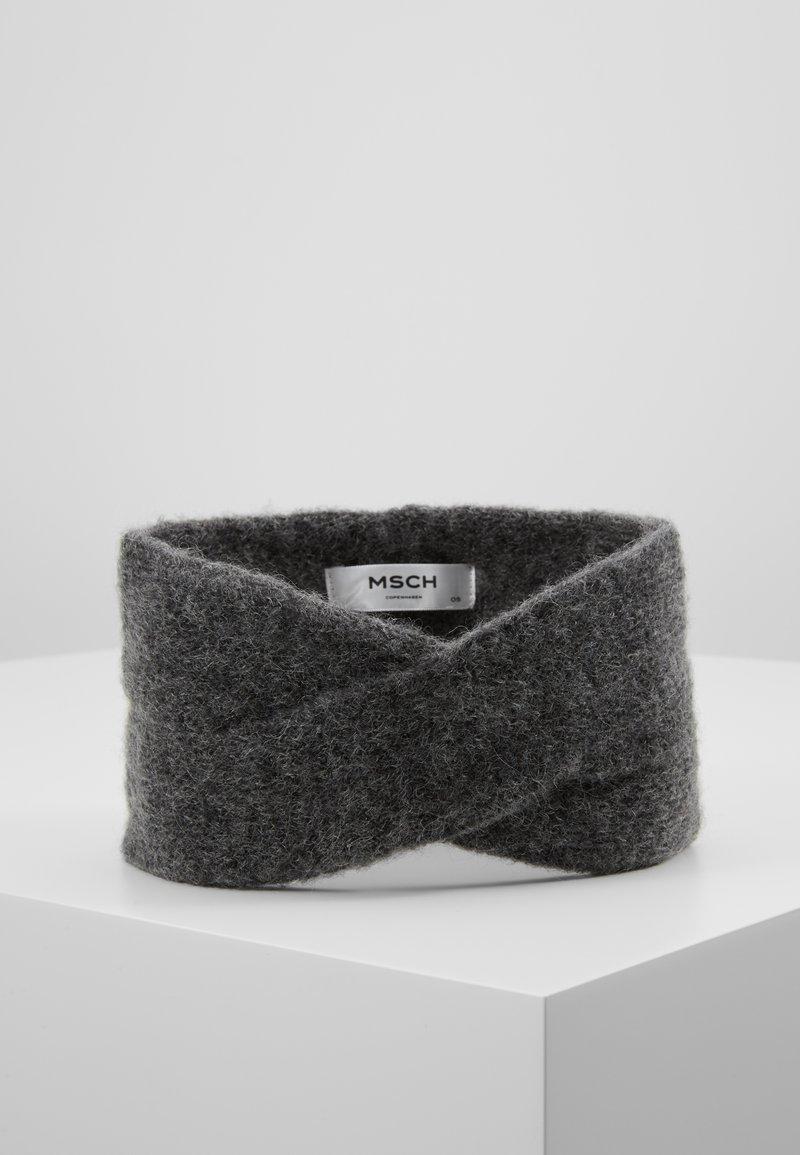 Moss Copenhagen - KIKKA HEADBAND - Ørevarmere - grey