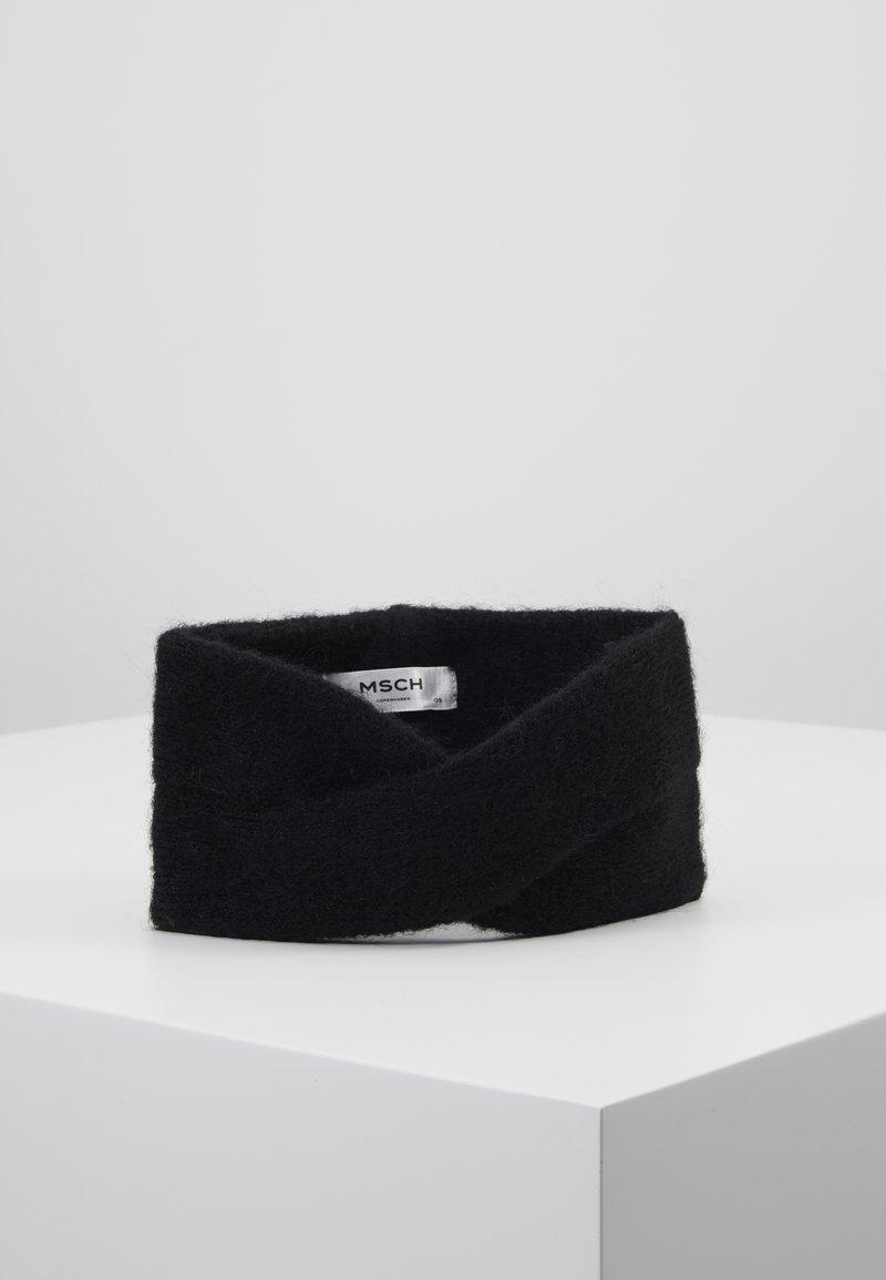 Moss Copenhagen - KIKKA HEADBAND - Oorwarmers - black