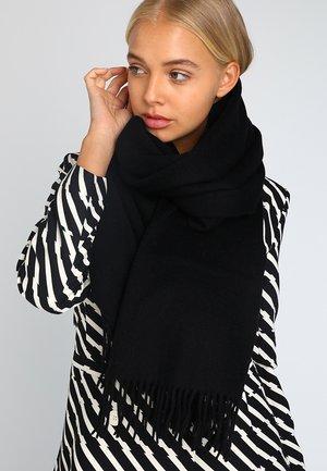 NIA SCARF - Sjal - black