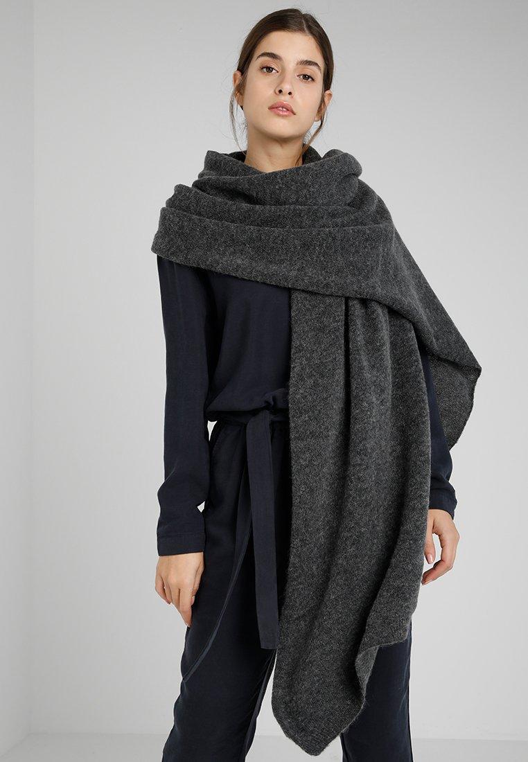 Moss Copenhagen - NILA SCARF - Szal - dark grey