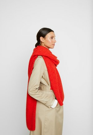 NILA SCARF - Szal - fiery red