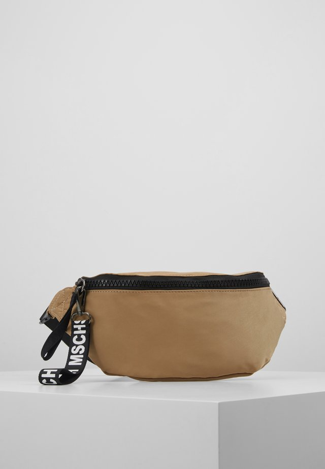 MILK BUMBAG - Bum bag - sand