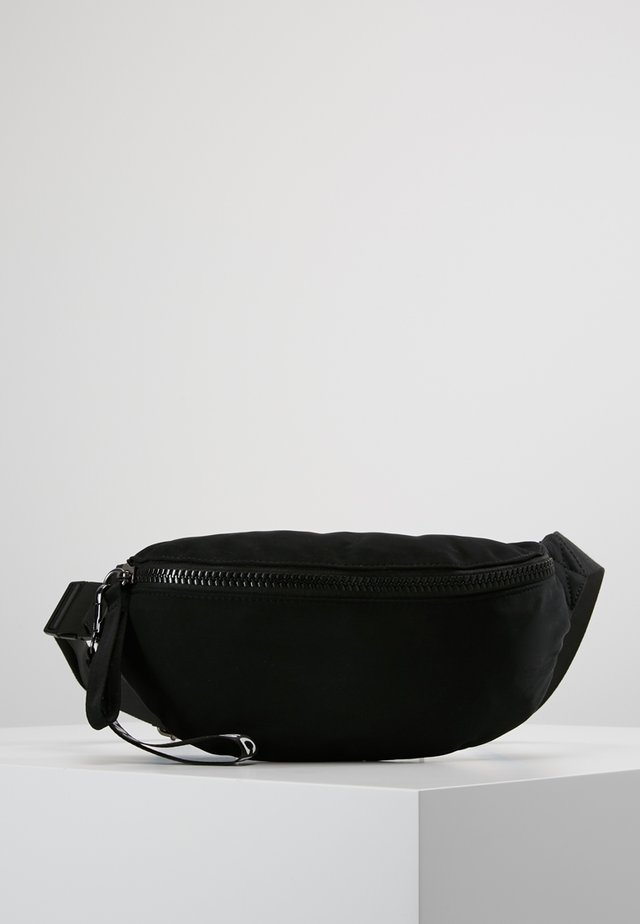 MILK BUMBAG - Bum bag - black