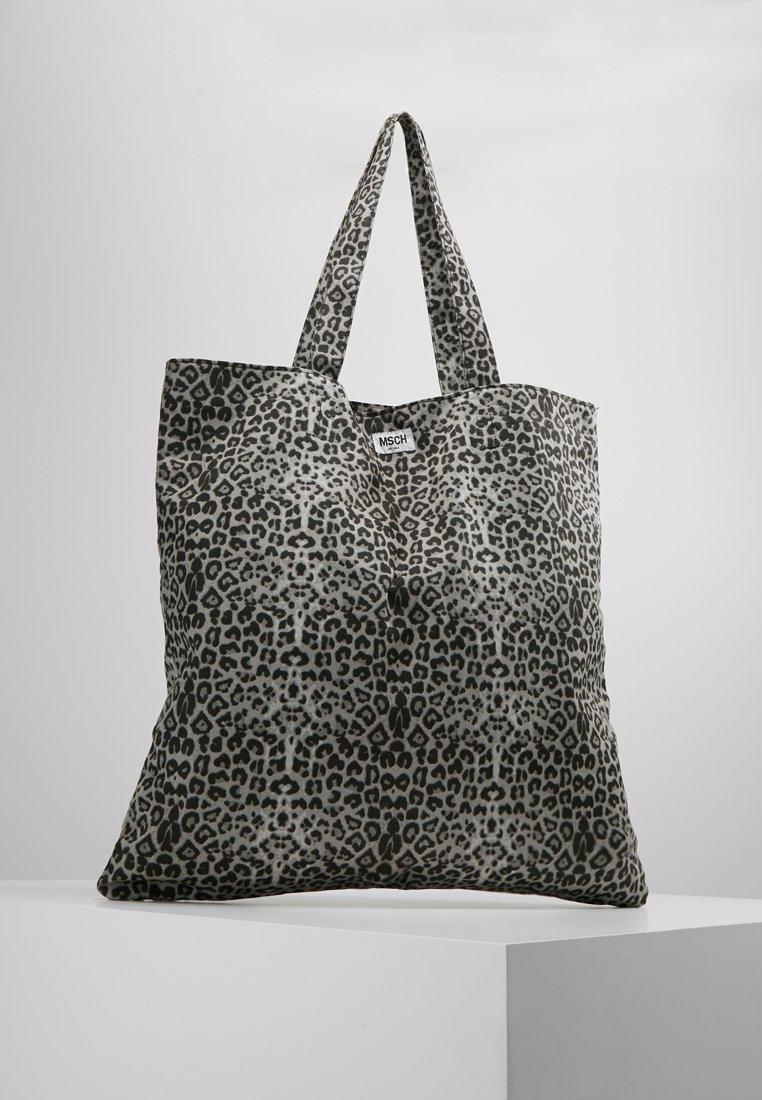 Moss Copenhagen - SIGA SHOPPER - Shopping bags - grey