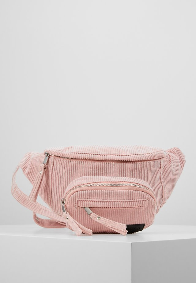 LAURA BUMBAG - Bum bag - rose