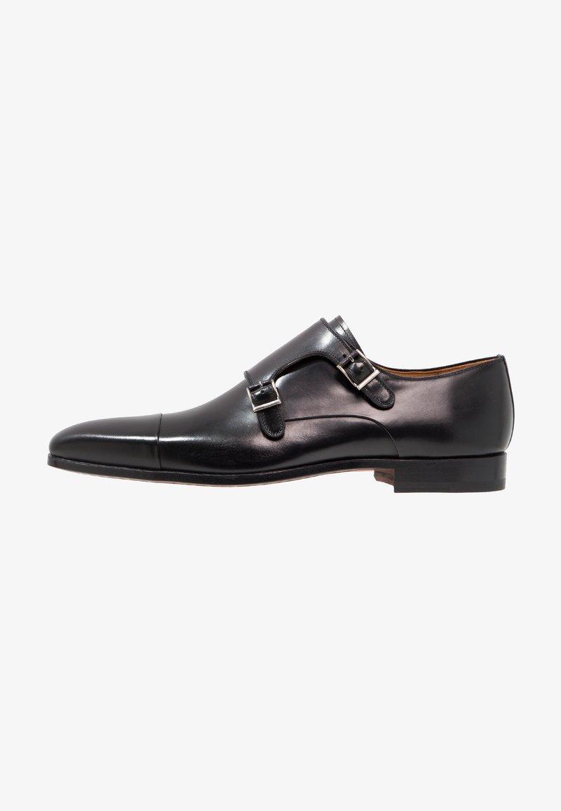 Magnanni - Elegantní nazouvací boty - black