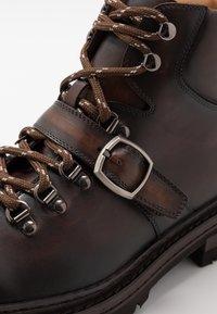 Magnanni - Botines con cordones - manchester bolchester marron - 5