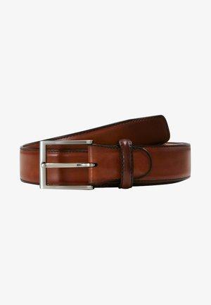 Cinturón - cognac