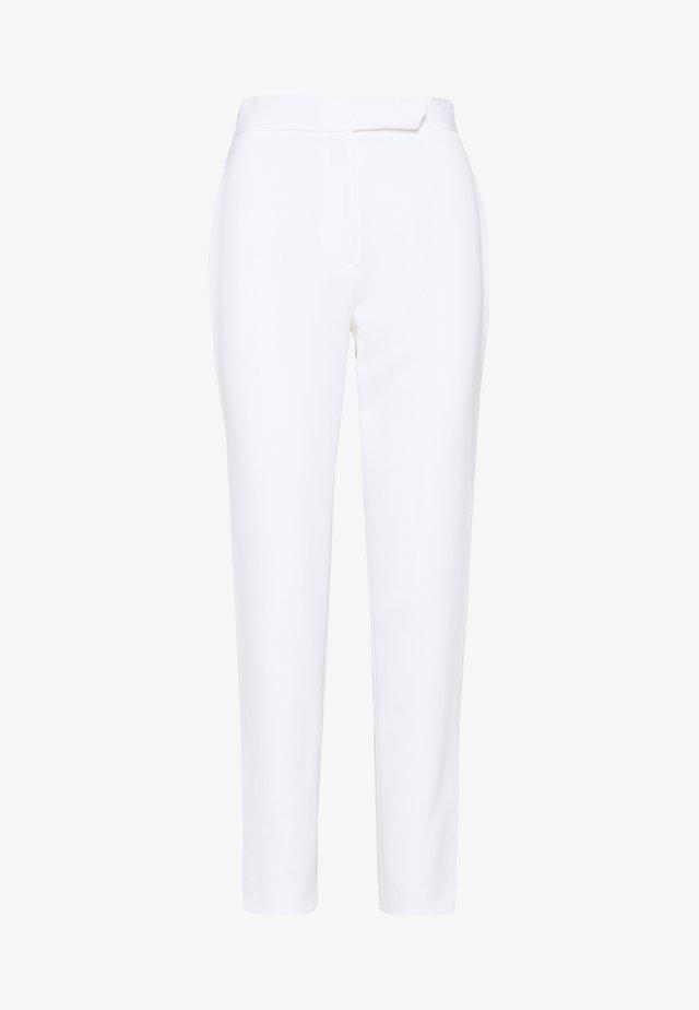 CADY KRISTEN ELASTIC PANT - Tygbyxor - white