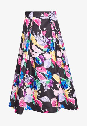BOUQUET FAILLE KATIE SKIRT - A-line skirt - black/multi