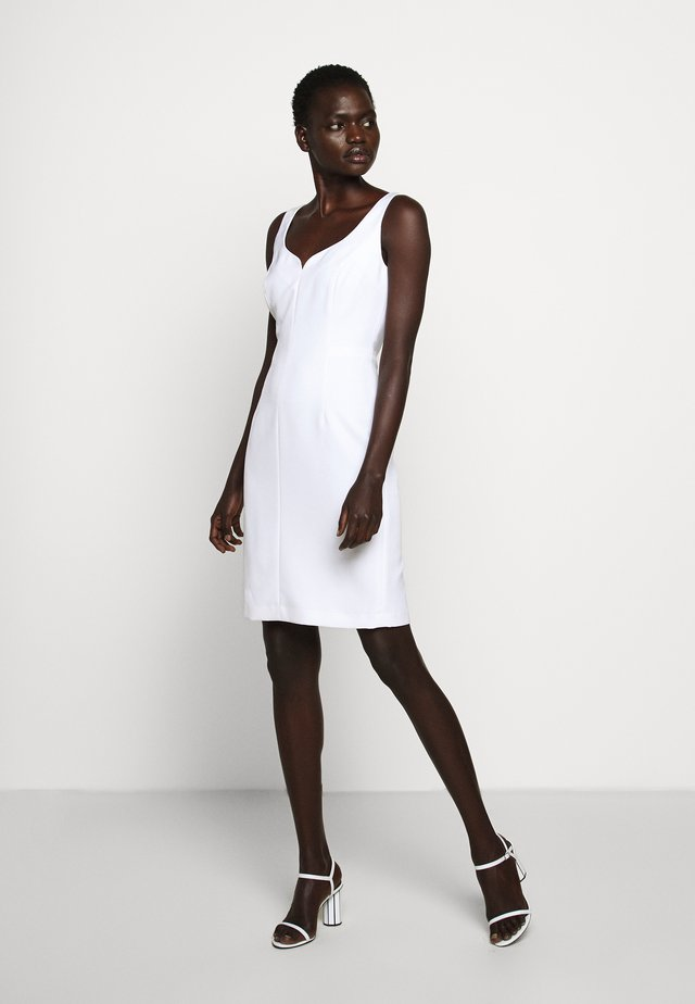 CADY ELIZABETH DRESS - Shift dress - white