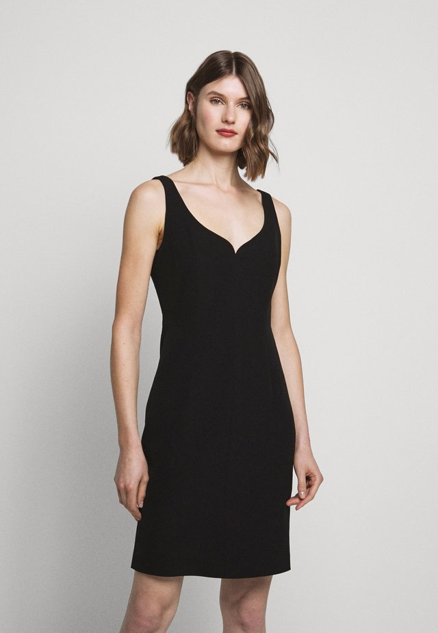 CADY ELIZABETH DRESS - Shift dress - black