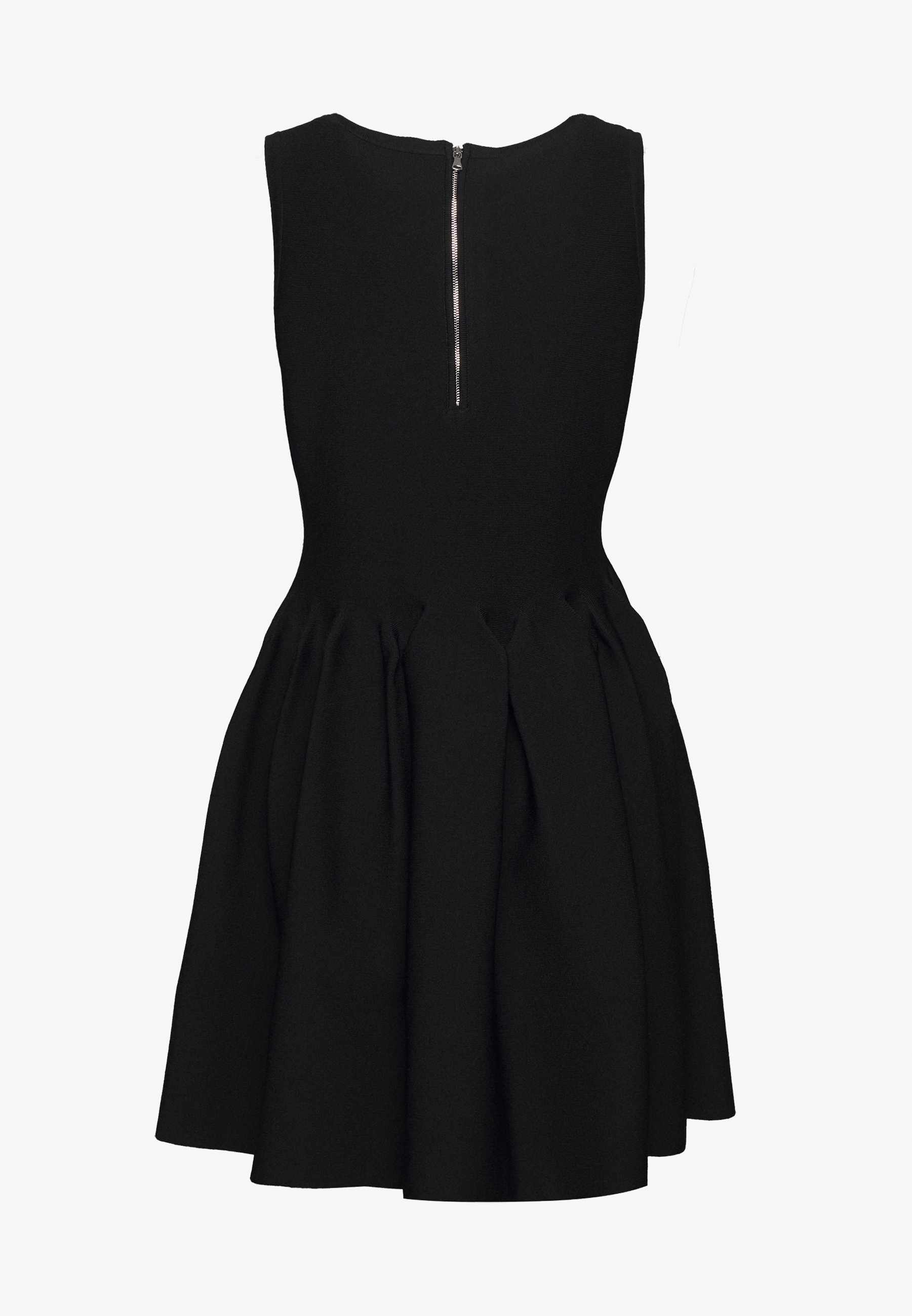 Milly Engineered Pleats Dress - Jerseyklänning Black