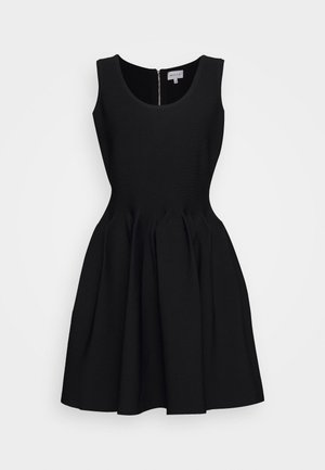 ENGINEERED PLEATS DRESS - Cocktail dress / Party dress - black