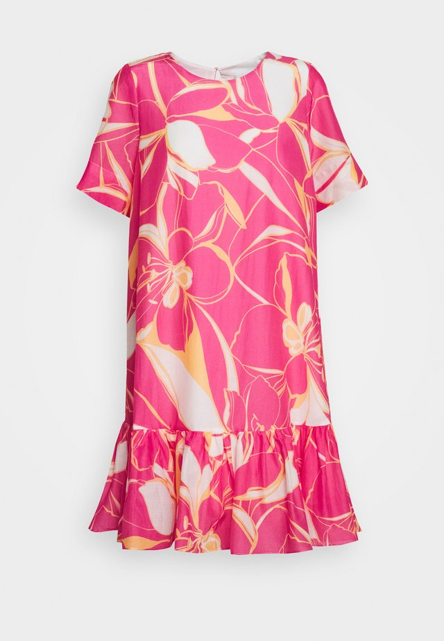 STENCIL BRYNN DRESS - Day dress - pink multi