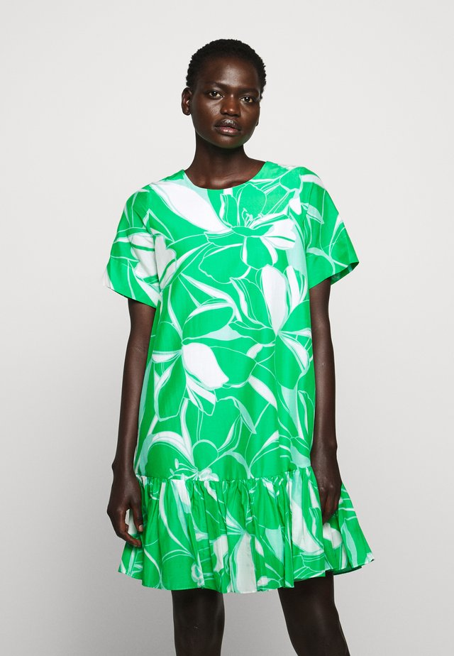 STENCIL BRYNN DRESS - Denní šaty - green/multi