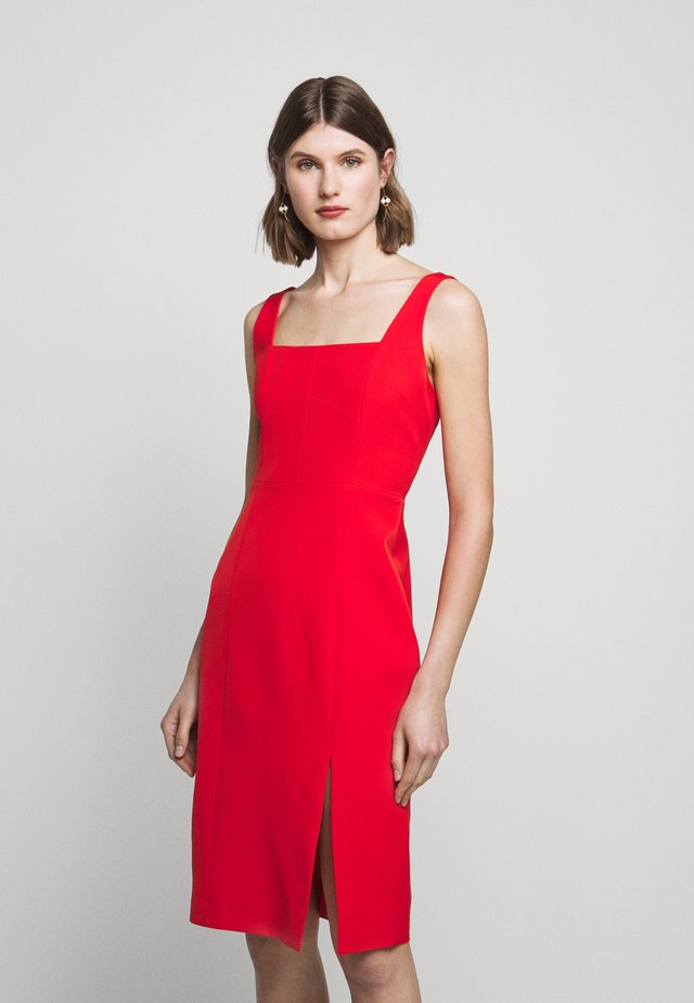 CADY RITA MIDI DRESS - Shift dress - red