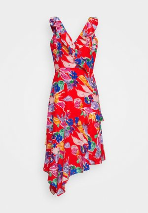 BOUQUET ALEXIS DRESS - Day dress - red/multi