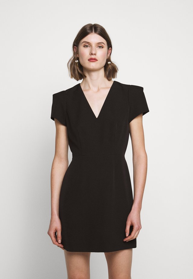 CADY ATALIE DRESS - Korte jurk - black