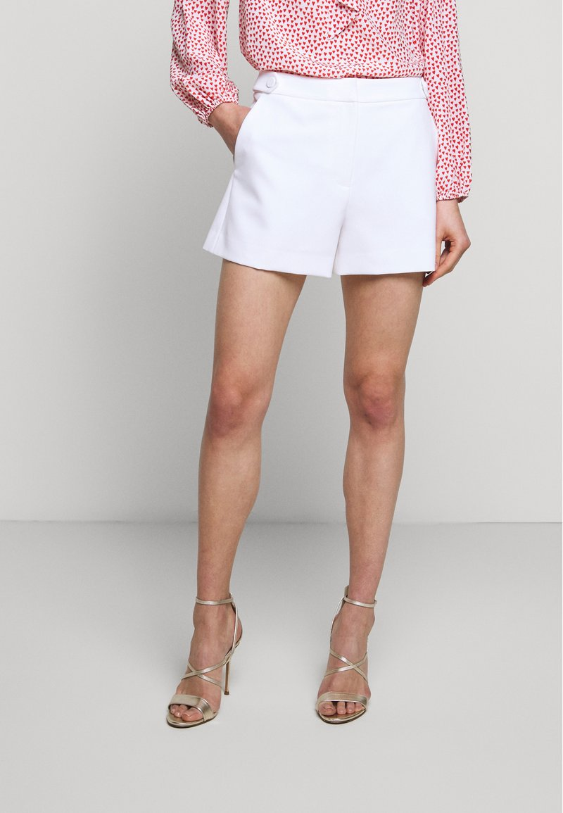 Milly - CADY ARIA BUTTON - Shorts - white