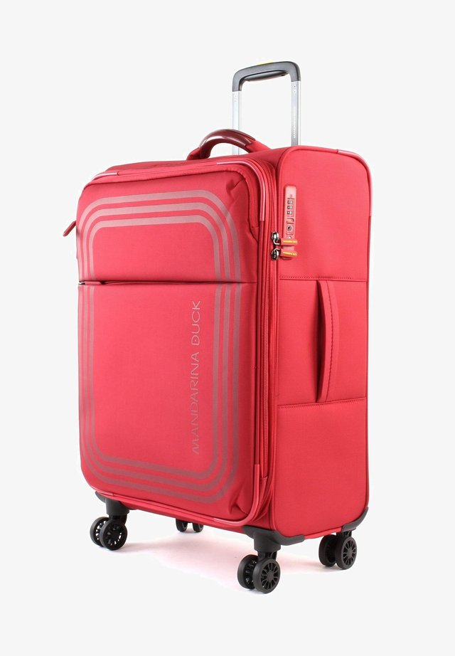 BILBAO - Wheeled suitcase - ruby