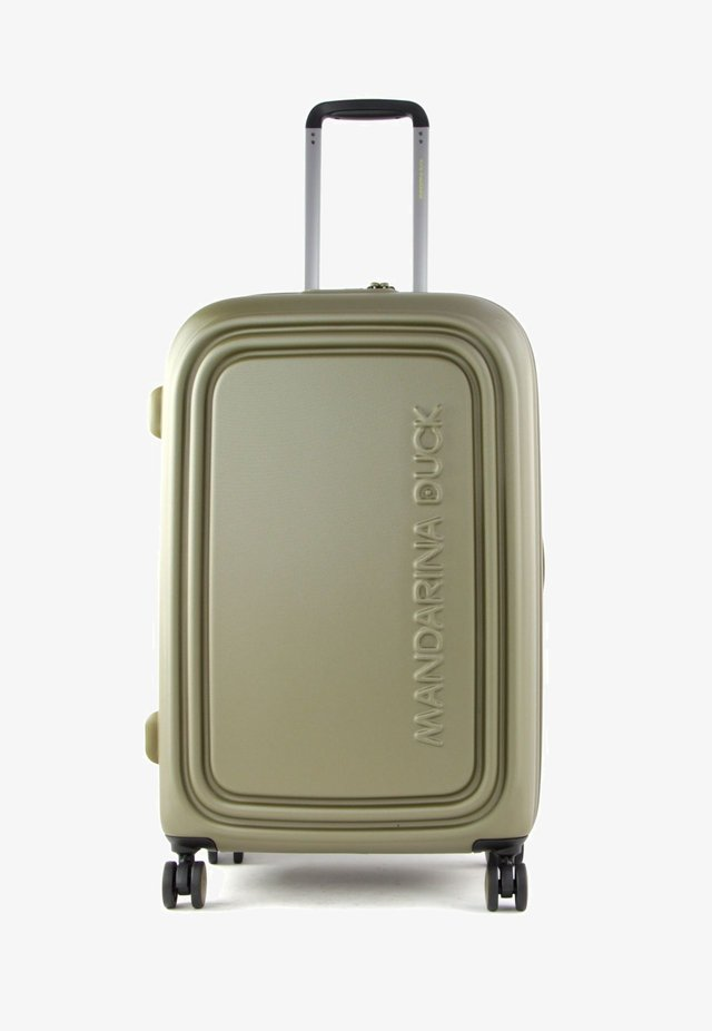 Wheeled suitcase - military olive