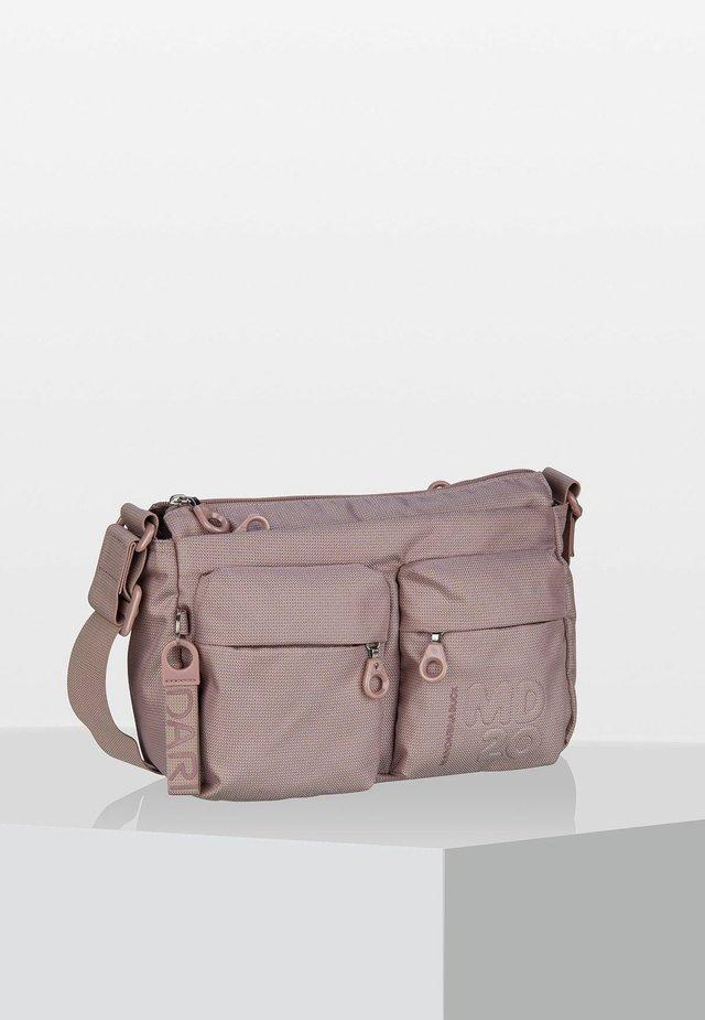 Across body bag - pale blush