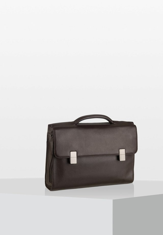 DETROIT - Briefcase - chocolate