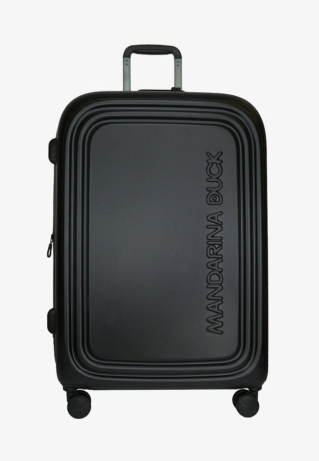 LOGODUCK  - Wheeled suitcase - black