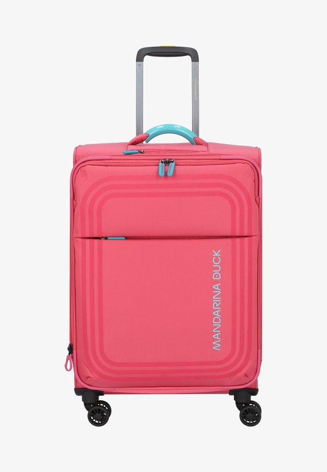 BILBAO - Wheeled suitcase - hot pink