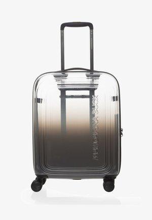 Wheeled suitcase - dark grey
