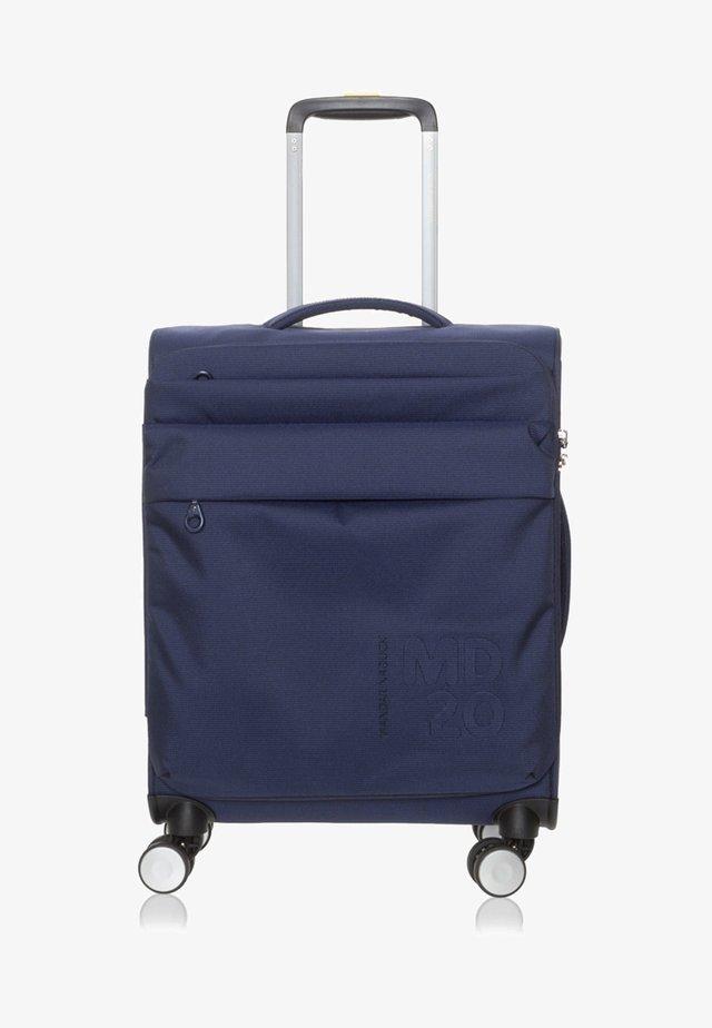 Wheeled suitcase - dress blue