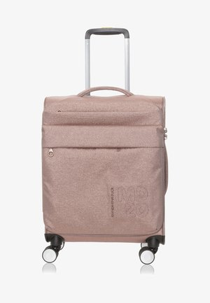 Wheeled suitcase - light brown