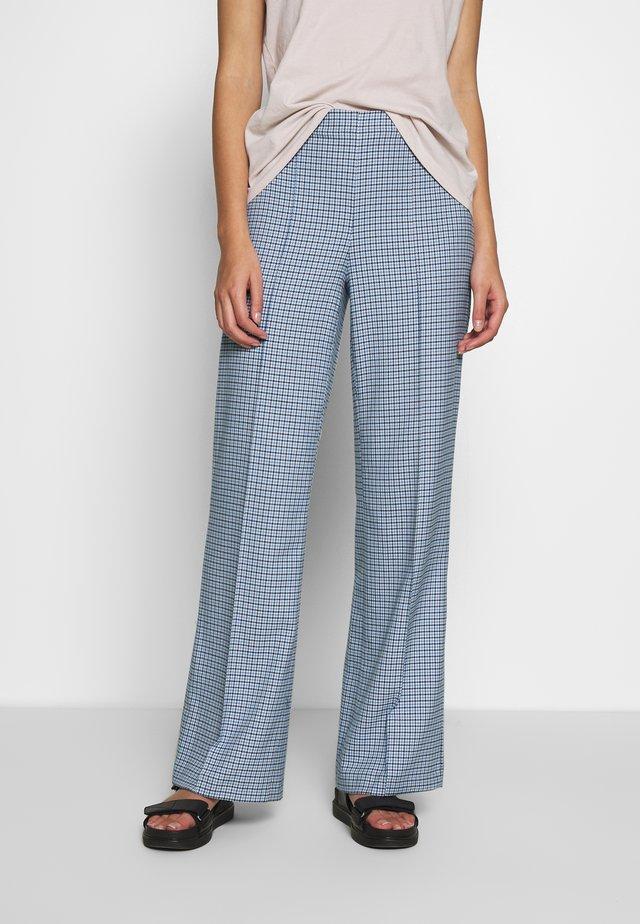 DOGTOOTH - Pantalon classique - blue
