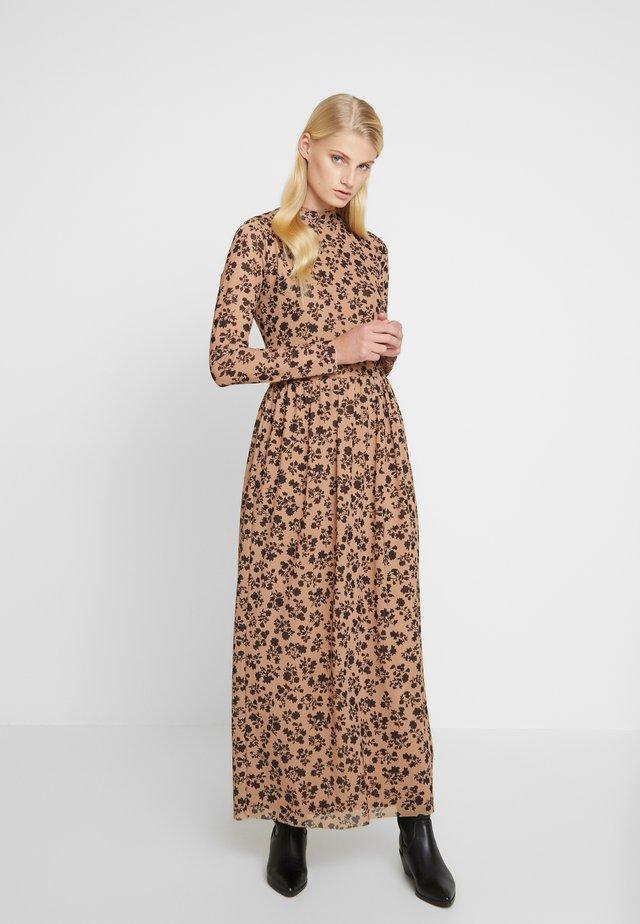 FLOWER DRUSELLA - Day dress - beige/black