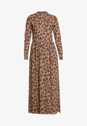 FLOWER DRUSELLA - Denní šaty - beige/black