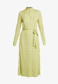 Mads Nørgaard - PRINTED STRETCH DINNE - Sukienka z dżerseju - bright lime - 4