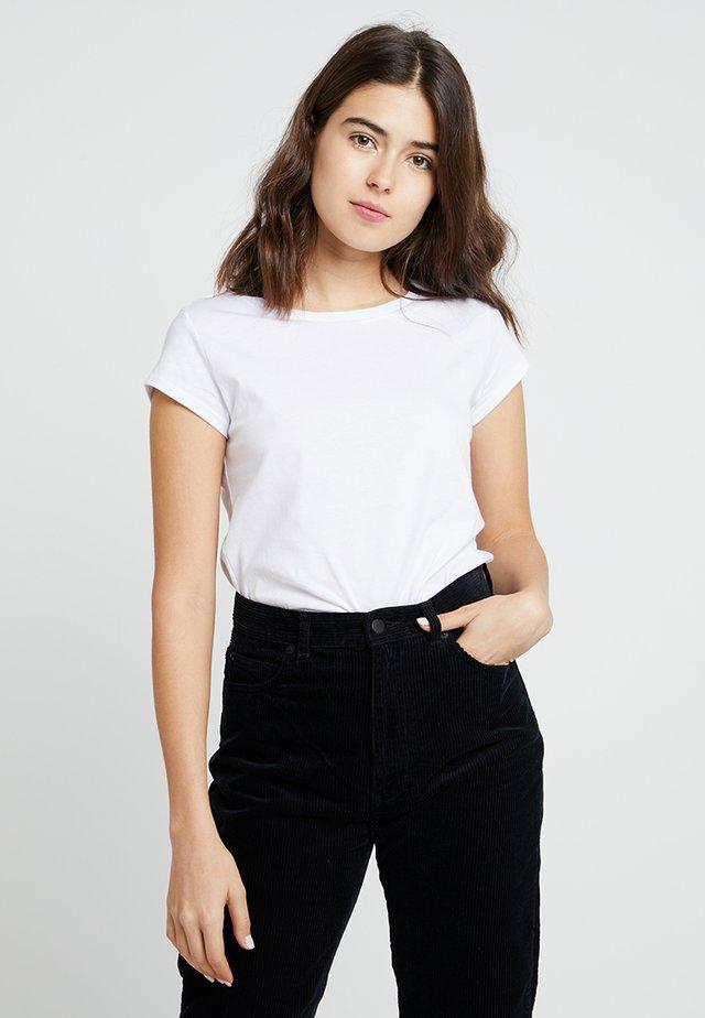 TEASY - T-Shirt basic - white